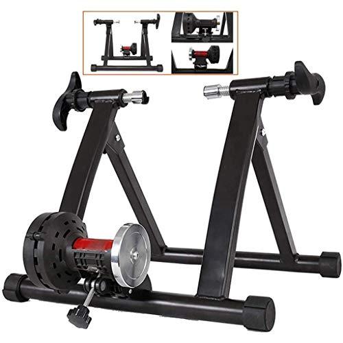 YAMMY Inicio Bicicletas estáticas Resistencia Turbo Trainer Stationary Indoor Bike Trainer Stand Indoor Stationary Exercise Stan (Entrenador de Bicicletas)