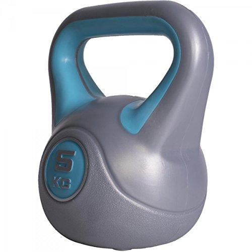 GORILLA SPORTS® Kettlebell Stylish 2-20 kg Kunststoff – Fitness-Kugelhantel 5 kg