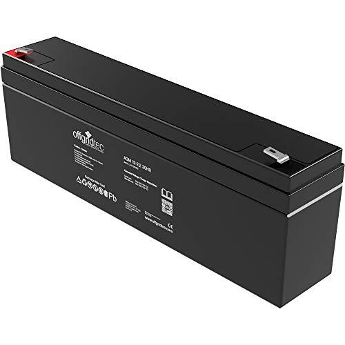 Offgridtec 2,2 Ah / C10 AGM Solar Batterie für zyklische...