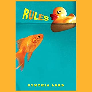 Rules                   Written by:                                                                                                                                 Cynthia Lord                               Narrated by:                                                                                                                                 Jessica Almasy                      Length: 3 hrs and 58 mins     5 ratings     Overall 4.2