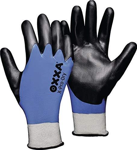 OXXA Handschuhe X-PRO-Dry Gr.9 schwarz/blau PES EN 388 Kat.II, 1 Paar