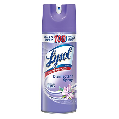 Lysol Disinfectant Spray, Early Morning Breeze, 12.5oz