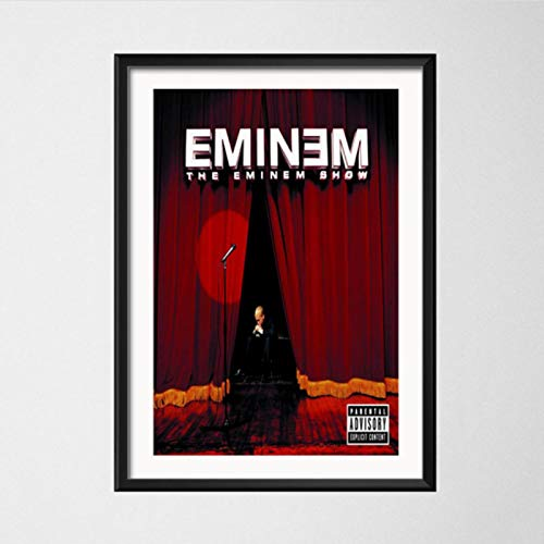 lubenwei Plakate und Drucke Eminem The Marshall Mathers The Eminem Show-Alben Kunst Leinwand Malerei Wandbild Home Decor 40x60cm Kein Rahmen AW-194