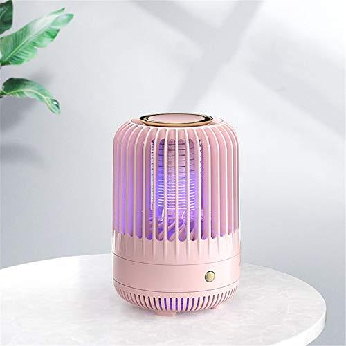 BaoYPP Mosquito Killer Creative Electric Shock Mating Mosquito Hogar Recargable Mosquito Repelente Lámpara Ampliamente Utilizado (Color : Pink, Size : 13x19.2cm)