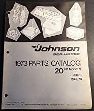 1973 JOHNSON SEA-HORSE 20 HP OUTBOARD OWNERS MANUAL (533)