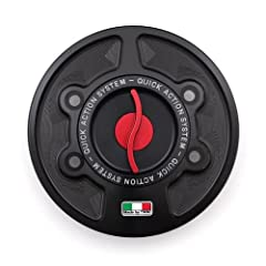First class Italian engineering and machinery from the Marchesini family! Quick release gas cap as used by top AMA and European Race teams. Precision machined from billet aluminum and finished with high thickness anodizing. Incredible weight savings!...