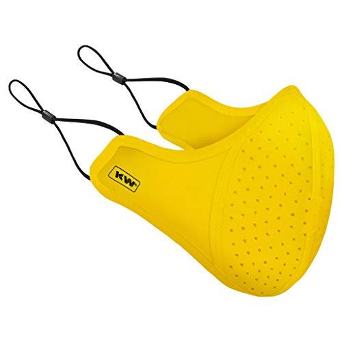 KleenWraps Form-Fitting, Quick Dry Mask (Regular, Signature Yellow)