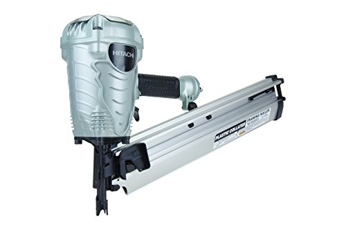 Hitachi NR90AES1 2 inches to 3-1/2 inches Plastic Collated Framing Nailer (Renewed)