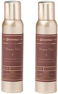 Aromatique Two 2 5 Ounce Room Sprays Cide Max 77% OFF Fragrance Cinnamon Nashville-Davidson Mall -