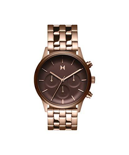 MVMT Damen Analog Quarz Uhr mit Goldfarbener Edelstahl Armband 28000063-D