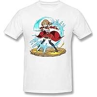 Men's Alice Schuberg (Alice Zuberg) - Sword Art Online Short Sleeve Top T-Shirt,Ayano Keiko - White,XXX-Large