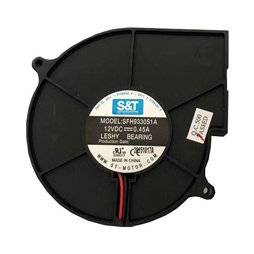 Desconocido Ventilador Vitro Inducción AEG HK6532H2FB, SFH9330S1A, 12VDC 0.45A