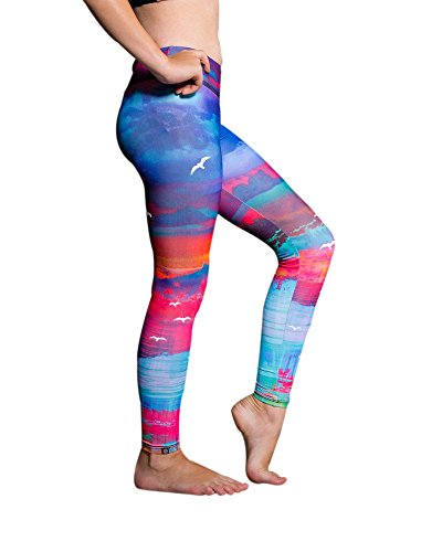 Onzie Youth Graphic Leggings 829 White Sands (White Sands, 7-8)