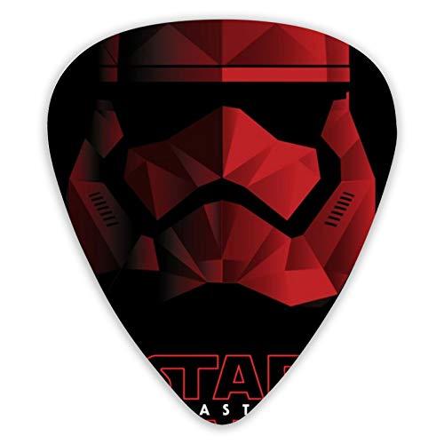 Juego de 12 púas de guitarra de Star Wars de doble cara