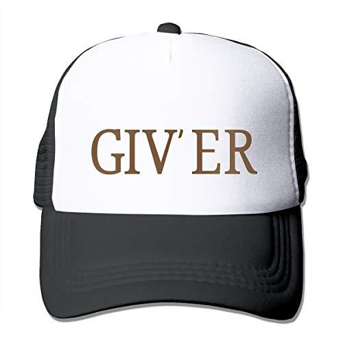 XNLHQH IJ Giv'er Trucker Hat Baseball Cap Dad Hat Adjustable Size Black