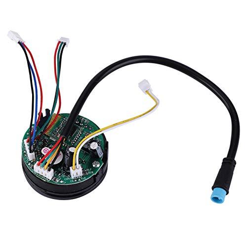 Durlclth Tablero de Instrumentos de Tablero de Circuito de Scooter eléctrico Plegable con Cubierta para ES1 ES2 ES4