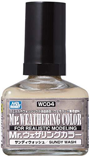 GSIクレオス Mr.ウェザリングカラー サンディウォッシュ 40ml 模型用塗料 WC04