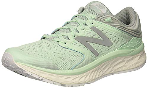 New Balance Women's Fresh Foam 1080 V8 Running Shoe, Seafoam-Arctic, 5.5 B US