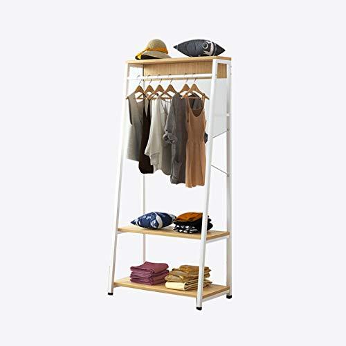 JYLSYMJa KangJZ smeedijzeren zware jassenrek, multifunctionele kledingrekken voor boetieks creatieve metalen kapstok meisjes kamer staande schoen rack bespaart ruimte