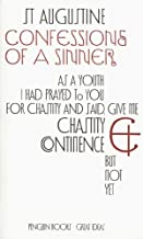 Penguin Great Ideas : Confessions of a Sinner by Augustine (2004) Paperback