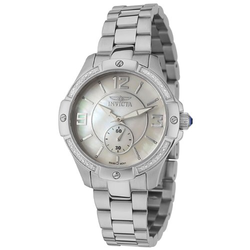 Invicta Women's 0262 II Collection Diamond Accented Stainless Steel Watch