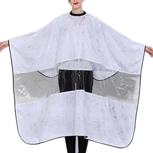 Coiffure robe en tissu Wrap Protect Hair Design coupe de cheveux tablier Cape Haircut