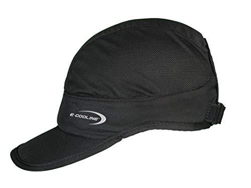 E.COOLINE Powercool SX3 Basecap light - kühlende Kopfbedeckung/Basecap - Klimaanlage zum Anziehen (schwarz, 2)