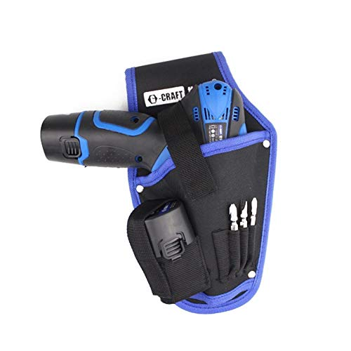 tool kit portable cordless drill waist bags clip