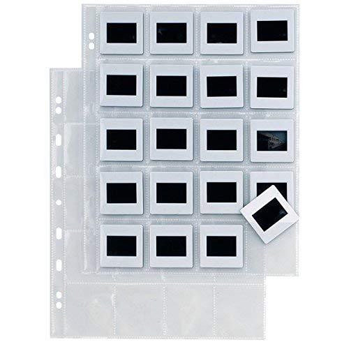 SEI ROTA Buste Porta Diapositive Sei Rota - 20 Spazi (5,5X5,5 Cm) - 662514 (conf. 10)