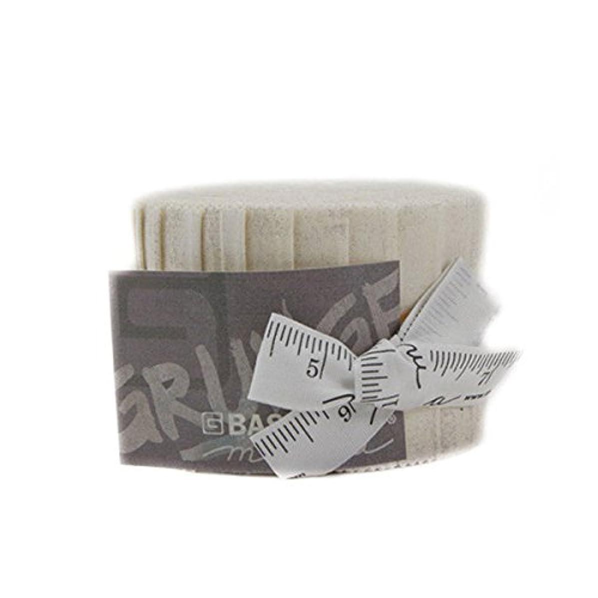 BasicGrey Grunge Basics Crème Junior Jelly Roll 20 2.5-inch Strips Moda Fabrics 30150JJR 270