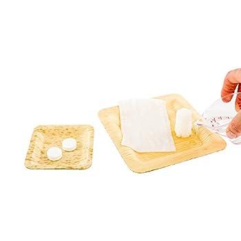 Luxenap Disposable Wet Napkins Compressed Towel Tablets - Just Add Water Eco-Friendly Cotton Fiber Towel - 8.7  x 9.4  - Disposable - 100ct Box - Restaurantware