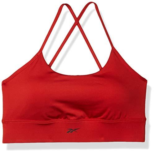 Reebok Workout Ready New Tri Backbra- Pad, Legacy Red, L