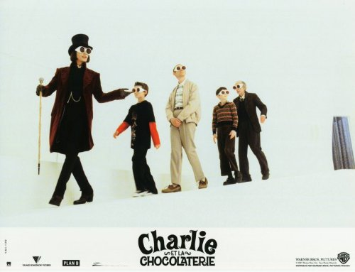 Charlie and the Chocolate Factory POSTER Movie (2005) French Style B 11 x 14 Inches - 28cm x 36cm (Johnny Depp)(Freddie Highmore)(Helena Bonham Carter)(Ty Dickson)(Christopher Lee)