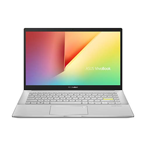 "ASUS VivoBook S14 S433 Thin and Light Laptop, 14"" FHD Display, Intel Core i5-1135G7 CPU, 8GB DDR4 RAM, 512GB PCIe SSD, Thunderbolt 3, Wi-Fi 6, Windows 10 Home, Dreamy White, S433EA-DH51-WH"