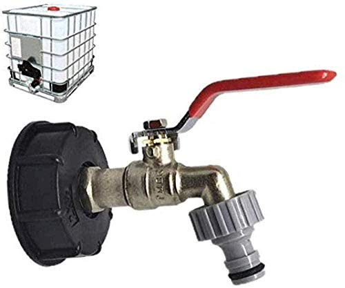 BAODANXWZ Co.,Ltd Grifo de jardín, Grifo de desagüe del Tanque de Agua, Conector de Manguera de jardín, Manguera de Grifo de Repuesto, Suministros de jardín