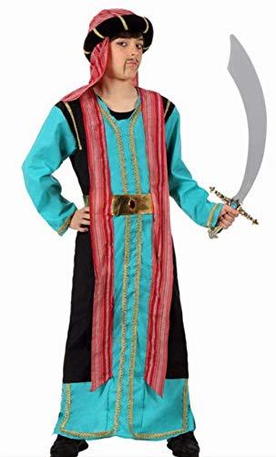 Disfraz de Jeque Árabe Para Niño - 7-9 Años