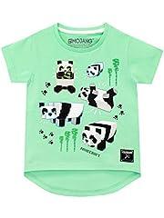 Minecraft Camiseta para Niñas Panda Manga Corta