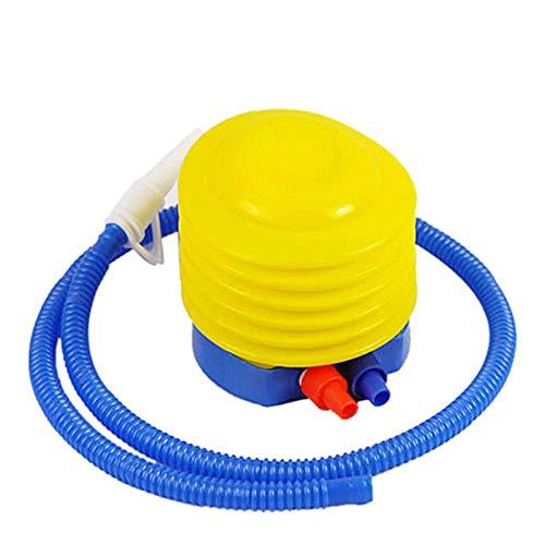 Jishu Bombas de pie de fuelle de plástico portátil ahorro de mano...