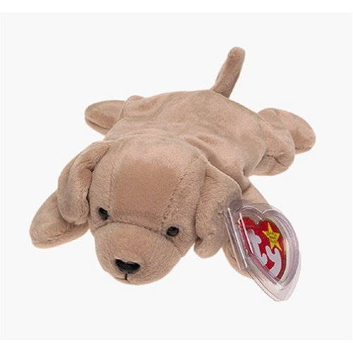 TY Beanie Baby - FETCH the Dog