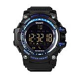 VHNBVHGKGHJ Reloj de pulsera impermeable con podómetro para hombre EX16 Smart Watch