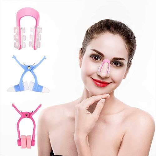Clip para moldeador de nariz para levantamiento y modelado de nariz Magia Kit superior para moldeador de nariz Levantador de nariz y corrector moldeador Herramienta de belleza de cara nasal