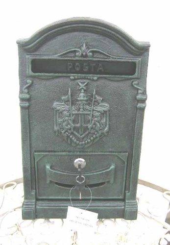 Rustikaler Briefkasten aus Gusseisen xx Rostfrei xx Landhausstiel xx al046