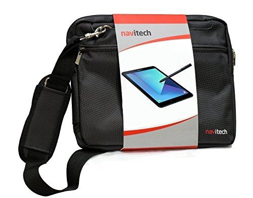 Navitech schwarz Premium Case/Cover Trage Tasche für das Fonxa 9.6 Inch Octa Core Tablet
