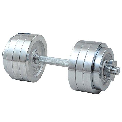 山善 Circulate クロムダンベルセット 20kg SD-20