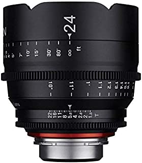 Samyang XEEN CF 24mm T1.5 Compact and Flexible Full Frame Professional Cine Prime Lens, PL Mount