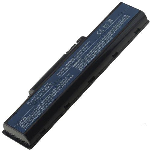 AT Batteria Potenziata 5200mAh 10,8V per Portatile Acer Aspire 5735, 5735Z, 5735Z-582G16Mn, 5738, 5738G, 5738Z, 5738ZG