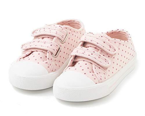 TEX - Zapatillas De Lona Estampadas para Niña, Rosa, 26 EU