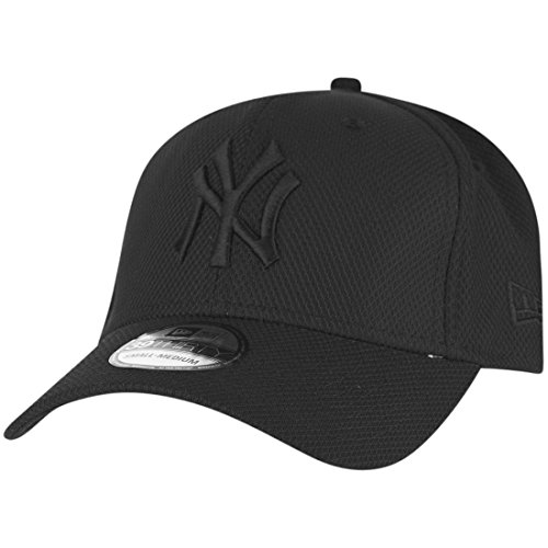New Era York Yankees 39thirty Flexfit Cap Stretch Diamond Black - L-XL