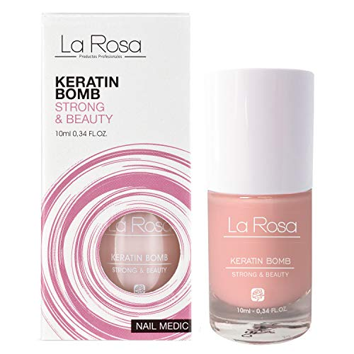 La Rosa Nagelverstärker Keratin Bomb Keratin Nagelserum, 10 ml
