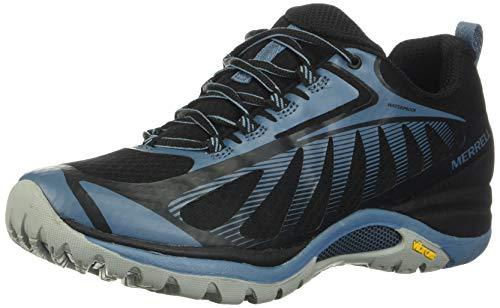 Merrell Damen Siren Edge 3 WP Walking-Schuh, Schwarz Nero Blue, 38 EU